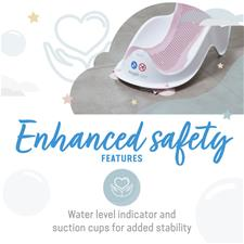 Supplier of Angelcare Soft-Touch Mini Baby Bath Support Pink