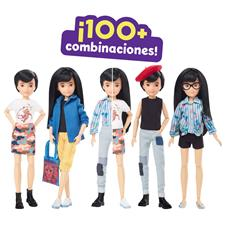 Supplier of Creatable World Deluxe Character Doll with Black Hair