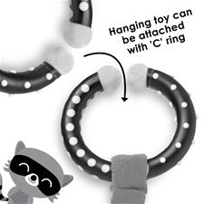 Supplier of Diono Harness Soft Wraps & Linkie Toy Raccoon