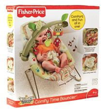 Supplier of Fisher-Price Woodsie Bouncer