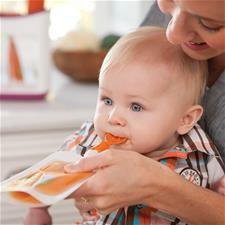 Supplier of Infantino Squeeze Pouches 50Pk