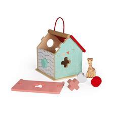 Supplier of Janod Sophie La Girafe Shape Sorting House