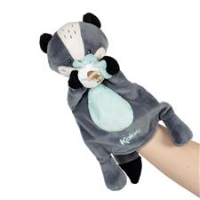 Supplier of Kaloo Kachoo Plush Puppet Malo Badger