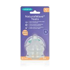 Supplier of Lansinoh Natural Wave Teat Slow Flow 2Pk