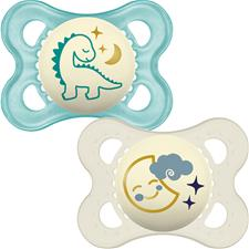 Supplier of MAM Night Soother 0m+ 2Pk