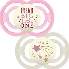 Supplier of MAM Perfect Night Soother 6m+ 2Pk