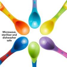 Supplier of Nuby Weaning Spoons X6