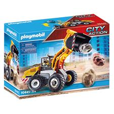 Supplier of Playmobil City Action Construction Front End Loader with Movable Bucket