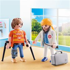 Supplier of Playmobil City Life Doctor and Patient Duo Pack