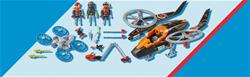 Supplier of Playmobil Galaxy Police Space Pirates Helicopter