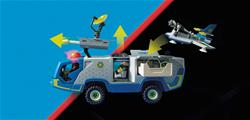 Supplier of Playmobil Galaxy Police Truck