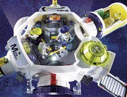 Supplier of Playmobil Space Mars Space Station with Functioning Double Laser Shooter