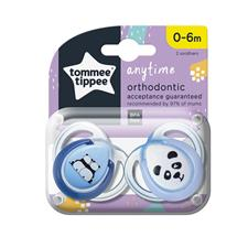 Supplier of Tommee Tippee Closer to Nature Anytime Soother 0-6m 2Pk