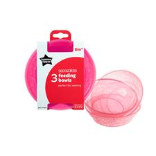 Tommee Tippee Essentials Basic Bowls 3Pk