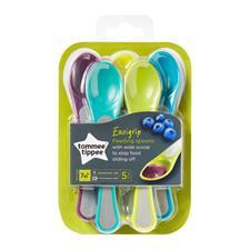 Tommee Tippee Feeding Spoons 5Pk
