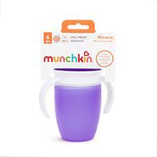 UK wholesaler of Munchkin Miracle 360 Trainer Cup Purple 207ml