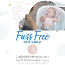 Baby products distributor of Angelcare Soft-Touch Mini Baby Bath Support Pink