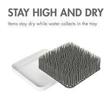 Baby products distributor of Boon GRASS Drying Rack Grey