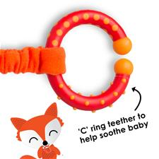 Baby products distributor of Diono Harness Soft Wraps & Linkie Toy Fox