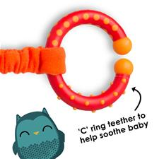 Baby products distributor of Diono Harness Soft Wraps & Linkie Toy Owl