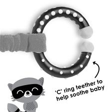 Baby products distributor of Diono Harness Soft Wraps & Linkie Toy Raccoon