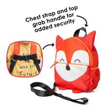 Baby products distributor of Diono Safety Reins & Backpack Fox