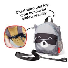 Baby products distributor of Diono Safety Reins & Backpack Raccoon