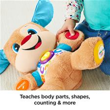Baby products distributor of Fisher-Price Laugh & Learn Smart Stages Puppy