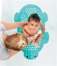 Baby products distributor of Infantino 2-in-1 Bath Mat & Storage Basket Turtle