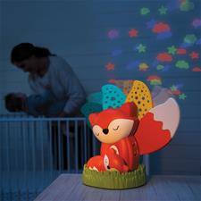 Baby products distributor of Infantino 3-In-1 Musical Soother & Night Light Projector