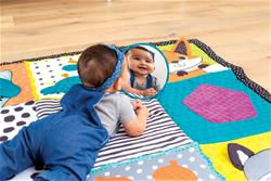 Baby products distributor of Infantino Fold & Go Giant Discovery Mat