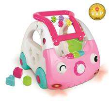 Baby products distributor of Infantino Sensory 3-in-1 Discovery Car Pink