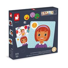 Baby products distributor of Janod Emotions Magnetic Game