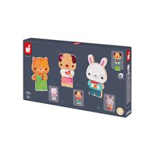 Baby products distributor of Janod Funny Magnets Pets