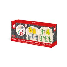 Baby products distributor of Janod I Learn To Count Puzzle