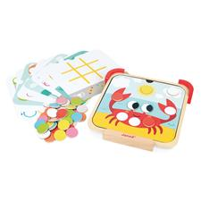 Baby products distributor of Janod I am Learning Colours - Magnetic Chips