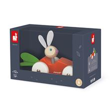 Baby products distributor of Janod Lapin Carrot Car