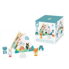 Baby products distributor of Janod Pure Shape Sorter