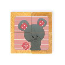 Baby products distributor of Janod Sophie La Girafe Blocks 4pc