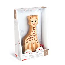 Baby products distributor of Janod Sophie La Girafe Pull-Along Toy
