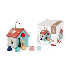 Baby products distributor of Janod Sophie La Girafe Shape Sorting House