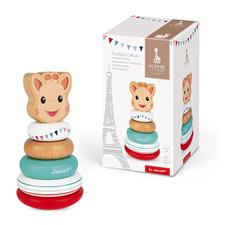 Baby products distributor of Janod Sophie La Girafe Stackable Roly-Poly