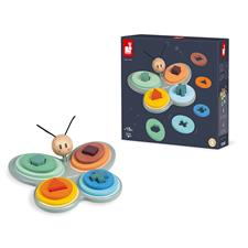Baby products distributor of Janod Sweet Cocoon Butterfly Shape Sorter