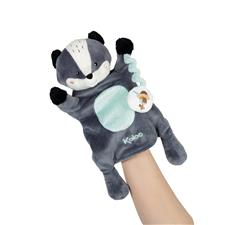 Baby products distributor of Kaloo Kachoo Plush Puppet Malo Badger
