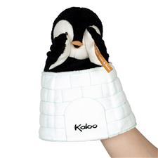 Baby products distributor of Kaloo Kachoo Surprise Puppet Gabin Penguin