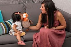 Baby products distributor of Kaloo Kachoo Surprise Puppet Jack Monkey