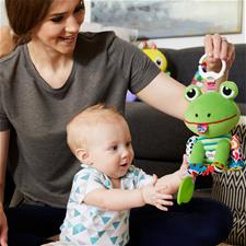 Baby products distributor of Lamaze Jibber Jabber Jake