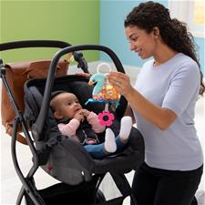 Baby products distributor of Lamaze Mini Clip & Go Sierra the Swan