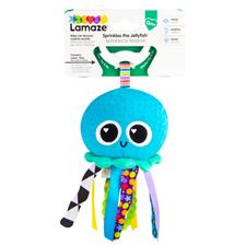 Baby products distributor of Lamaze Mini Clip & Go Sprinkles the Jellyfish
