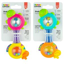 Baby products distributor of Lamaze Shakin Shell Rattle Assortment